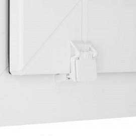 Sötétítő roló- Easy Fix- thermo bevonattal, fehér