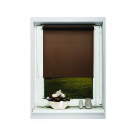 Sötétítő roló- Easy Fix- thermo bevonattal, barna