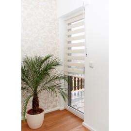 Sávroló ajtóra, Easy Fix, zöld (árnyékoló roló)