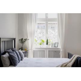 Statikus üvegfólia/ ablakfólia 3D- virág mintás