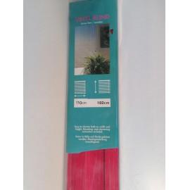 Árnyékoló reluxa 110x160 cm, piros