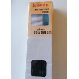 Árnyékoló reluxa 60x160 cm,alumínium, fekete