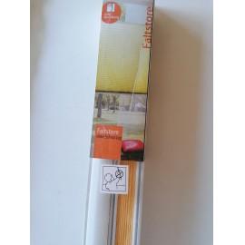 Árnyékoló pliszé 60x130 cm, narancssárga